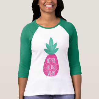Cute Pineapple Mother of the Groom T-Shirt