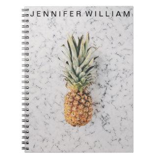 Cute pineapple notebook