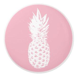 Cute pineapple nursery door and drawer pull knobs