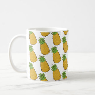 Cute Pineapple Pattern Coffee Mug