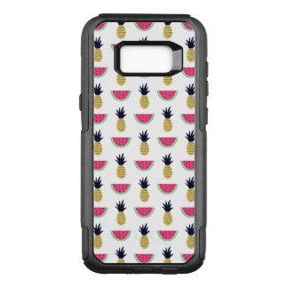 Cute Pineapple & Watermelon Doodle Pattern OtterBox Commuter Samsung Galaxy S8+ Case
