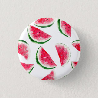 Cute Pineapple & Watermelon Pattern 3 Cm Round Badge