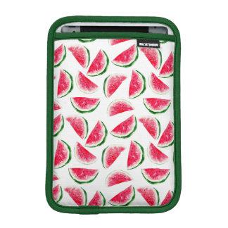 Cute Pineapple & Watermelon Pattern iPad Mini Sleeve