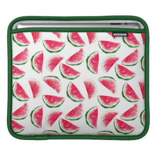 Cute Pineapple & Watermelon Pattern iPad Sleeve