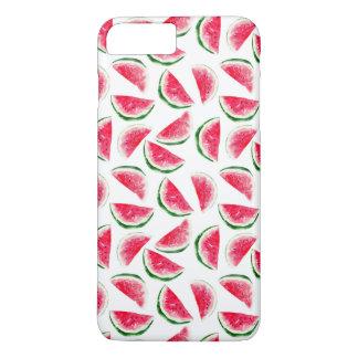 Cute Pineapple & Watermelon Pattern iPhone 8 Plus/7 Plus Case
