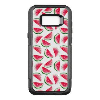 Cute Pineapple & Watermelon Pattern OtterBox Commuter Samsung Galaxy S8+ Case