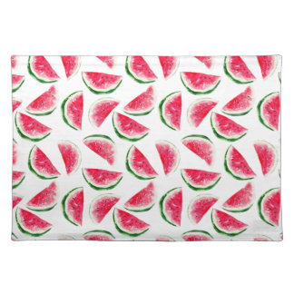 Cute Pineapple & Watermelon Pattern Placemat