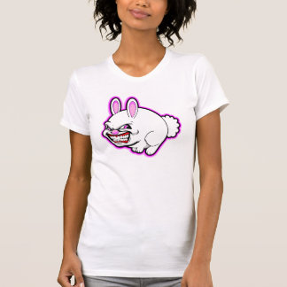 Cute Pink apple bunny in pink Shirt