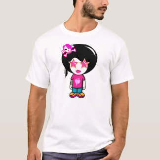 Cute Pink apple girl T-Shirt