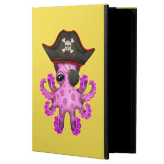Cute Pink Baby Octopus Pirate Powis iPad Air 2 Case