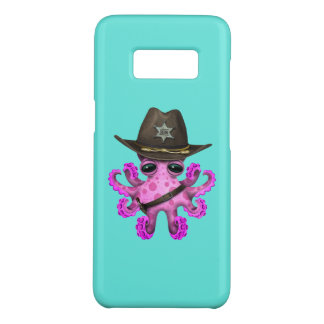 Cute Pink Baby Octopus Sheriff Case-Mate Samsung Galaxy S8 Case