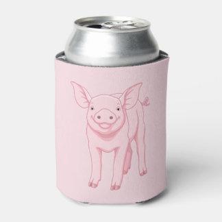 Cute Pink Baby Piglet