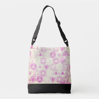Cute pink bag floating hexagon lights