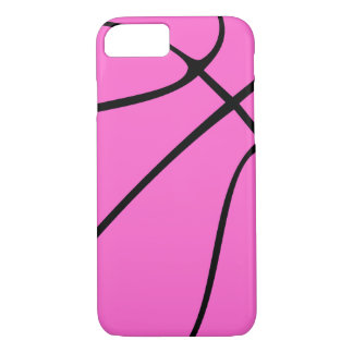 Cute Pink Basketball iPhone Cover