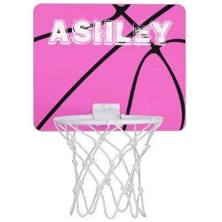 Cute Pink Basketball Mini Basketball Hoop