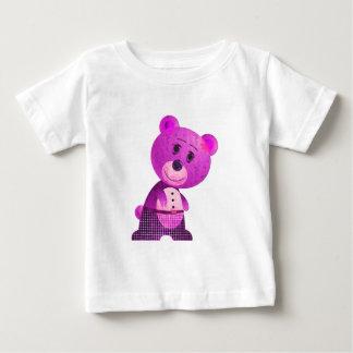 Cute Pink Bear Infant Long SleeveT-Shirt Baby T-Shirt