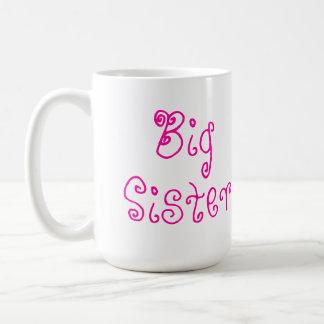 Cute Pink Big Sister Mug