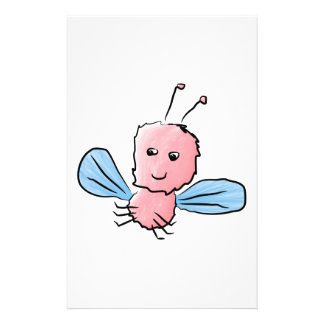 Cute Pink Bug Flying Insect 14 Cm X 21.5 Cm Flyer