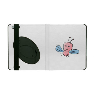 Cute Pink Bug Flying Insect iPad Covers