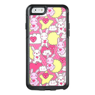 Cute Pink Bunnies OtterBox iPhone 6/6s Case