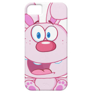 Cute Pink Bunny Cartoon Character iPhone 5 Covers