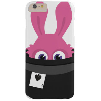 Cute pink bunny for Happy Easter Barely There iPhone 6 Plus Case
