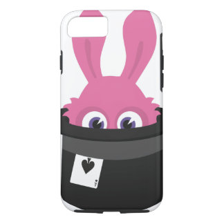 Cute pink bunny for Happy Easter iPhone 8/7 Case