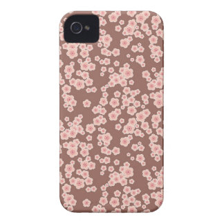 Cute pink cherry blossoms pattern blackberry bold iPhone 4 covers