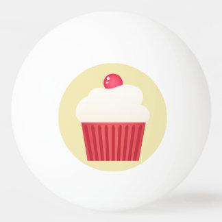 cute pink cupcakes ping pong ball