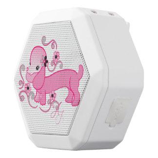 Cute Pink Dachshund