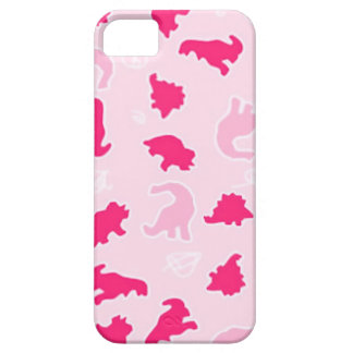 Cute pink dinosaurs iPhone 5 covers