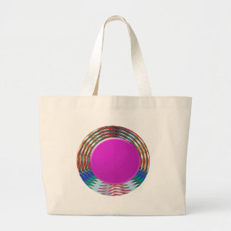 CUTE pink DOT circle BINDI sparkle: LOWPRICE STORE Canvas Bags