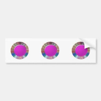 CUTE pink DOT circle BINDI sparkle: LOWPRICE STORE Car Bumper Sticker