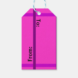 Cute Pink Gift Tags
