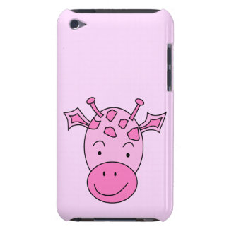 Cute Pink Giraffe. Barely There iPod Cases