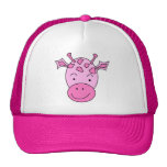 Cute Pink Giraffe. Trucker Hat