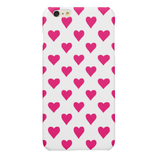 Cute Pink Heart Pattern Love