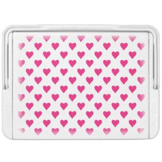 Cute Pink Heart Pattern Love Cooler