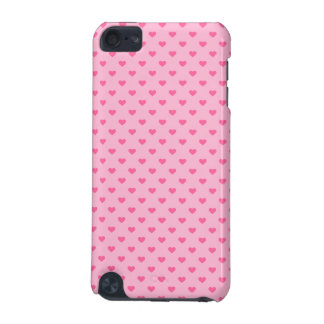Cute Pink Heart Pattern Love iPod Touch (5th Generation) Case