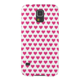 Cute pink heart-shaped pattern Samsung Case