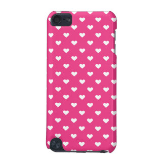 Cute Pink Hearts Pattern iPod Touch (5th Generation) Cases