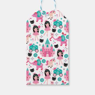 Cute Pink Little Princess Unicorn Magical Pattern Gift Tags