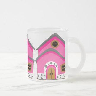 CUTE PINK NEW JERSEY CARTOON HOUSE GIRLY HOME COFFEE MUGS