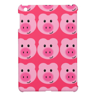 Cute Pink Pig Pattern iPad Mini Case