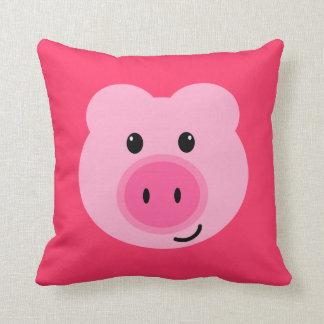 Cute Pink Pig Pillow