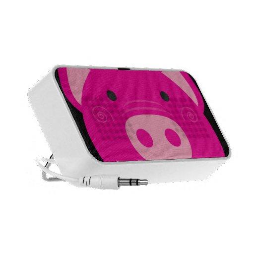 Cute Pink Pig Speaker