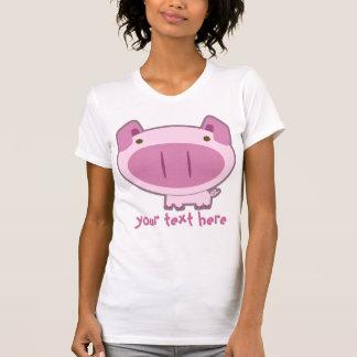 CUTE PINK PIG T-SHIRTS