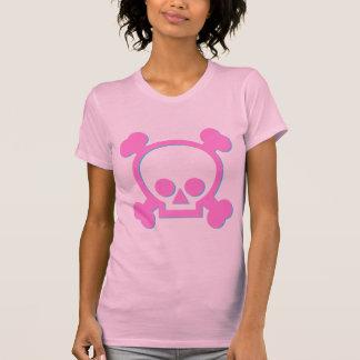 Cute Pink Skull T-shirt