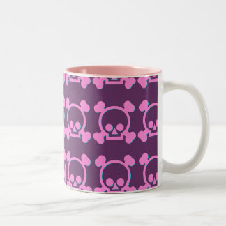 Cute Pink Skulls Coffee Mug