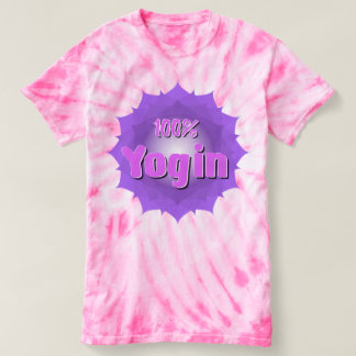 Cute pink T-Shirt for yogis